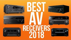 BEST AV RECEIVERS 2018 - TOP 10 BEST A/V RECEIVER 2018 | HOME THEATER