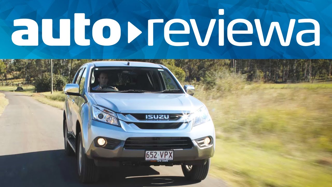 2015 2016 Isuzu Mu X Video Review Australia Youtube