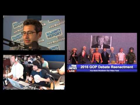 Republican Debate 2015 - Majority Report 2015 9pm ET Republican Debate Commentary