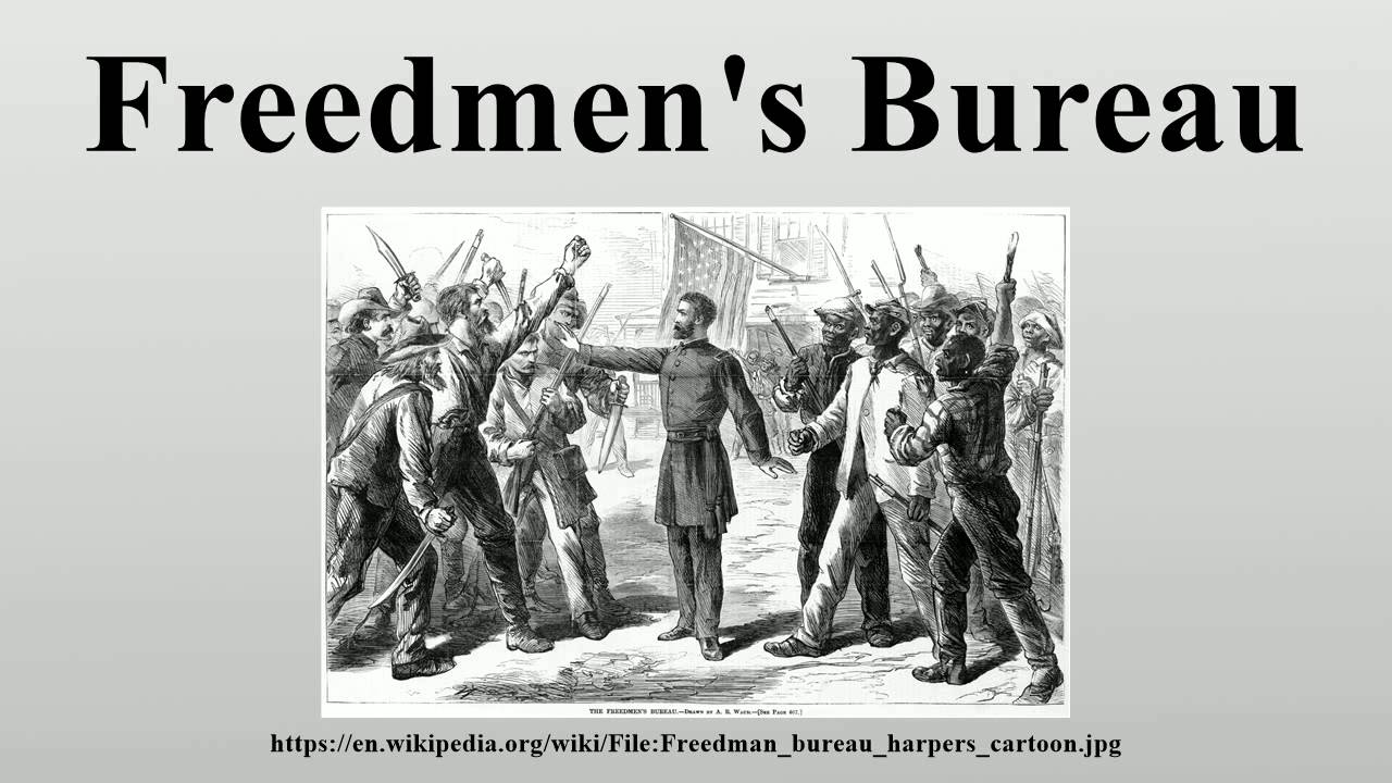 duboiss views on freedmens bureau and the reconstruction Help in the reconstruction, congress established the freedmen's bureau on march 3, 1865 placing it under the jurisdiction of the war department the bureau was designed.