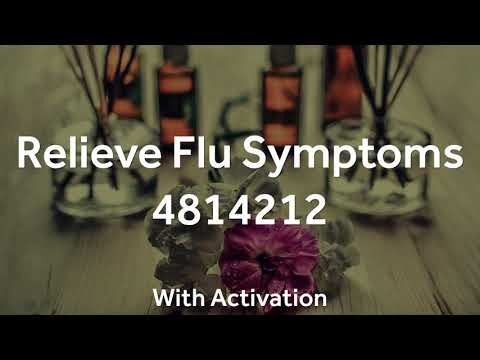 Grabovoi Numbers - Relieve Flu Symptoms - 4814212 (with activation)