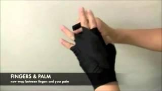 Намотка боксерского бинта на руку