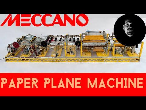 Meccano Paper Plane Folding Machine