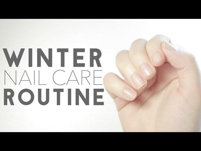 Winter Nail Care Routine Vine Vera Manicure Set