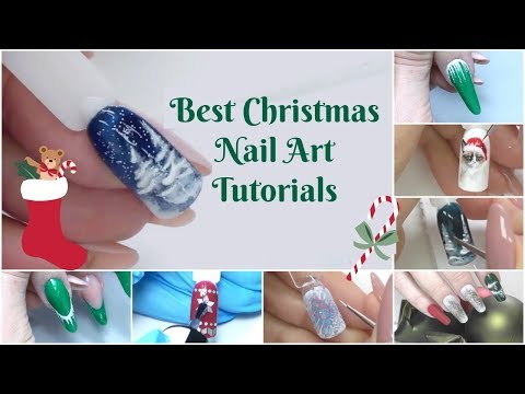 Best Christmas Nail Art Designs Compilation
