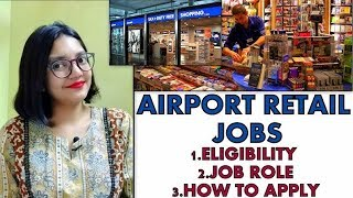 Airport Retail Jobs | Airport Ground Staff | Eligibility | Job Role | How to Apply | Hindi