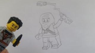 LEGO Ninjago Figuren auswendig zeichnen Folge 1