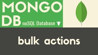 Bulk Actions  MongoDB  Tutorial 8
