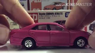 EP.1 Tomica トミカ Toyota CROWN ATHLETE トヨタクラウン アスリート No.92 review