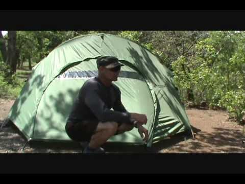 Eureka Assault Outfitter 4 Tent Review & Eureka Assault Outfitter 4 Tent Review - YouTube