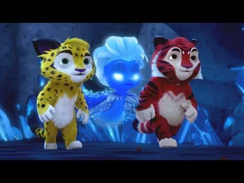 Лео и Тиг Маленькая вьюжка Серия 15 мультфильм для детей о жителях тайги