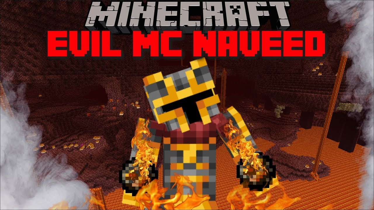 MINECRAFT EVIL MC NAVEED / ME AND MARK MY FRIENDLY ZOMBIE FIGHT AGAINST  EVIL MC NAVEED !! Minecraft