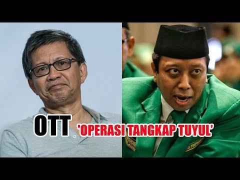 Reaksi Rocky Gerung Saat Romahurmuziy Terkena OTT KPK 'Operasi Tangkap Tuyul