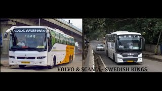 Volvo & Scania - The Swedish Kings on Indian Roads !!