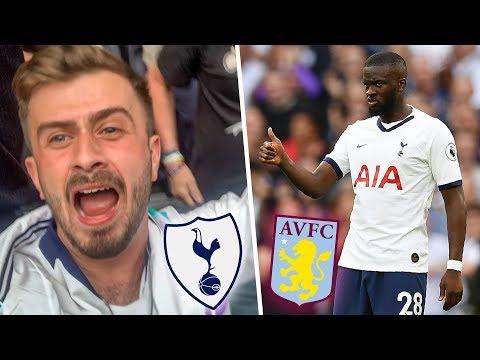 TANGUY NDOMBALLER SCORES ON HIS DEBUT!   Tottenham Vs Aston Villa 3-1