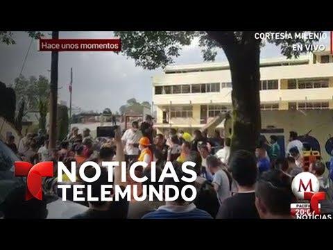 EN VIVO: Lo último sobre el terremoto que sacudió hoy a Ciudad de México   Noticiero   Telemundo