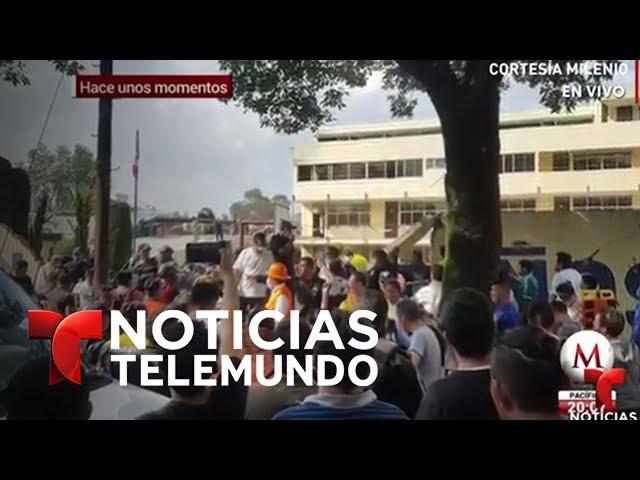 EN VIVO: Lo último sobre el terremoto que sacudió hoy a Ciudad de México | Noticiero | Telemundo