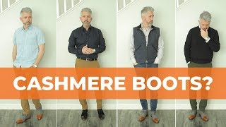 Wearing And Styling Cashmere Boots