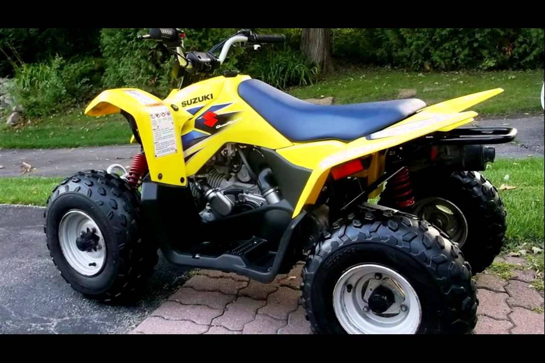 suzuki quadsport z90 - YouTube