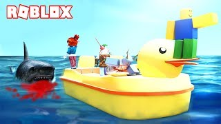 THE TIBURON THAT EATS SUBS!!! - ROBLOX SHARKBITE ENGLISH