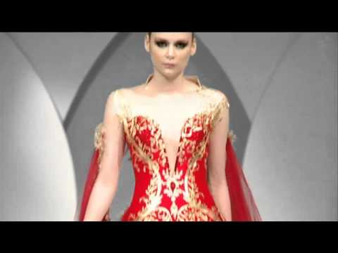 Mona Almansouri opening Beirut fashion show 2013