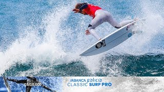 Jadson Andre Nails Near-Perfect Heat, ABANCA Galicia Classic Surf Pro Highlights