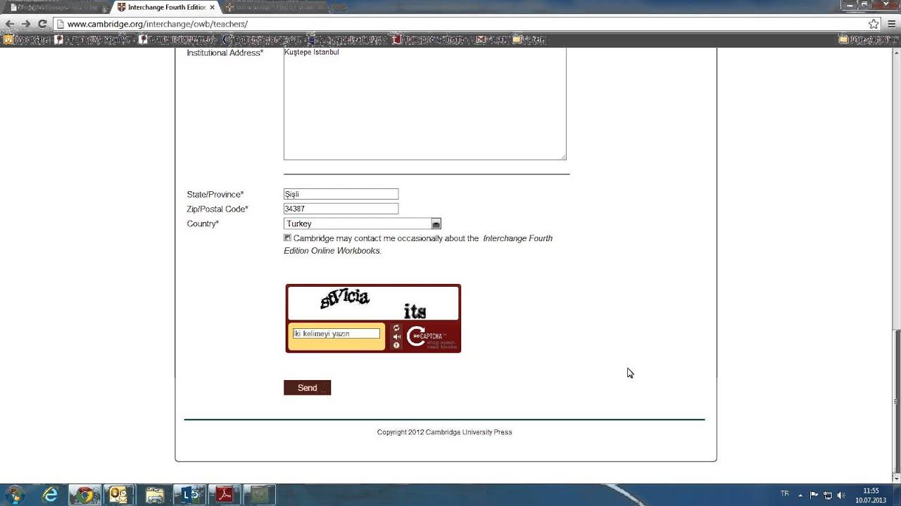 Workbooks interchange fourth edition online workbook : Interchange Online Workbook Registration for Teachers - YouTube