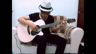 Right Here Waiting - Guitar Fingerstyle covered by Darian Lim