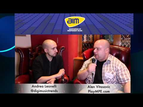 Interview with Alen Vitasovic from Play MPE -- AIM's Music Connected 2014