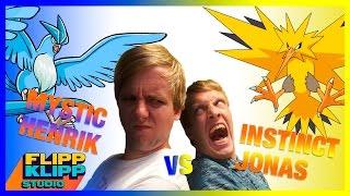 HVEM ER BEST I POKÉMON GO? Jonas vs Henrik LIVE