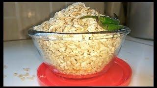 How to fry Chivda/Poha/Flattened Rice/Chura|Salted Chivda