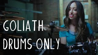 DRUMS ONLY: KARNIVOOL - GOLIATH - DRUM COVER BY MEYTAL COHEN