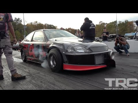 FIRST SFWD HONDA INTO THE 7's! SFWD Record 7.95@189