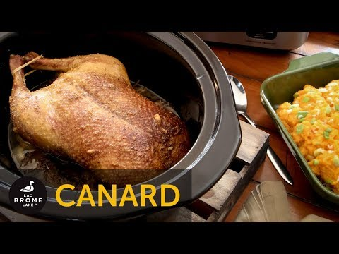 recette-de-canard-à-la-mijoteuse-sur-lit-de-purée-de-patates-douces-au-raifort