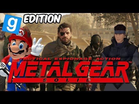 MGS: INFILTRACION! Metal Gear VI GMOD en Español - GOTH