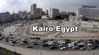 Egypt Cairo Verkehr Traffic