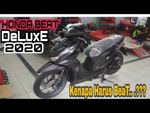 Honda Beat Deluxe 2020 Black Matte Hitam Doff Tanya Masbeck Youtube