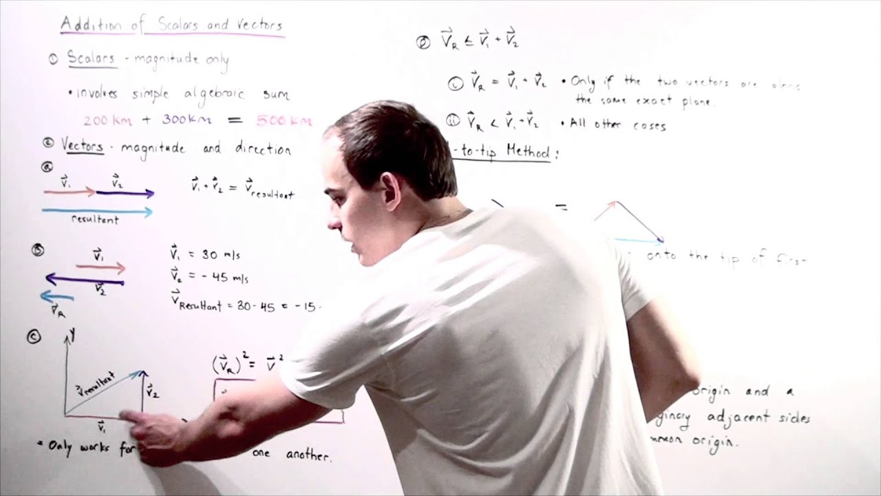 Download Scalar and Vector Addition
