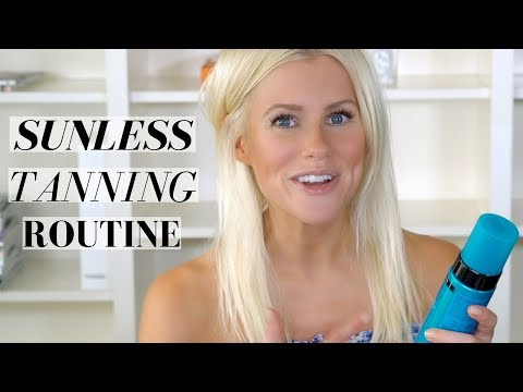 SELF TANNING ROUTINE ft. St. Tropez, Eco Tan and Clarins | Mikaela South