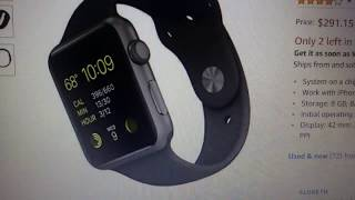 Apple 42mm Smart Watch Cyber Monday Sale On Amazon (Review)