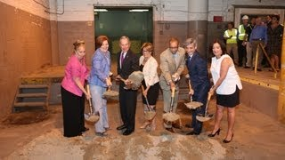 Mayor Bloomberg Breaks Ground For Larger Beacon High School