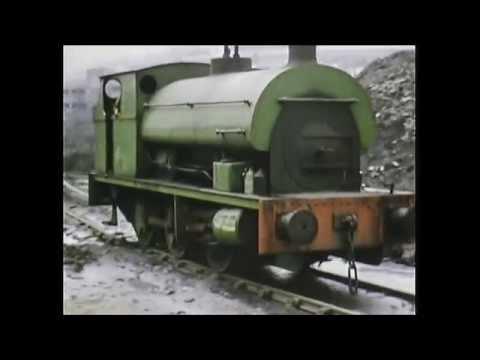 South Wales coal train compilation 1973