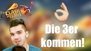 CLASH OF CLANS: Die 3er kommen! ✭ Let's Play Clash of Clans [Deutsch/German HD]