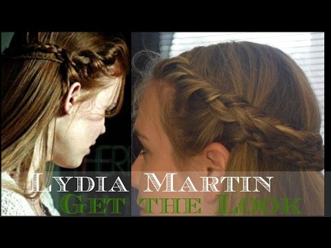 Teen Wolf Lydia MartinHolland Roden  Inspired Hairstyle  YouTube
