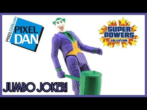 Super Powers Joker Jumbo Figure Gentle Giant DC Comics Video Review