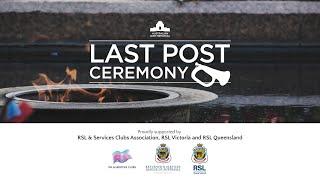 Last Post Ceremony: Private Matthew James Ryan - 29 July
