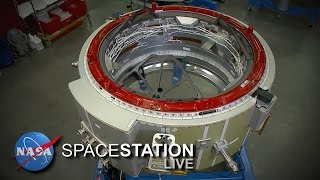 Space Station Live: Hooking Up the New Docking Hardware