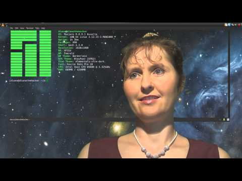 Mum Tries Out Spatry's Manjaro 0.8.9.1 Cup of Linux Edition (2014)