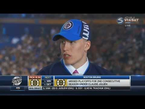 Patrik Laine funny interview after the Draft