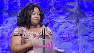 Shonda Rhimes Accepts Golden Gate Award at the #glaadawards